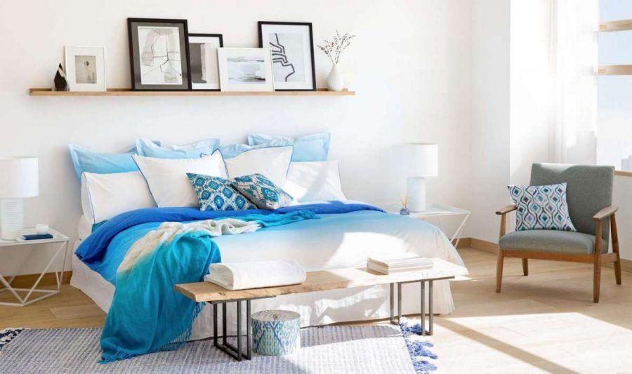 biancheria-letto-azzurra
