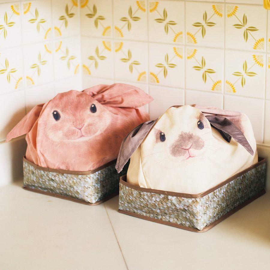 Borsette a forma di coniglietto