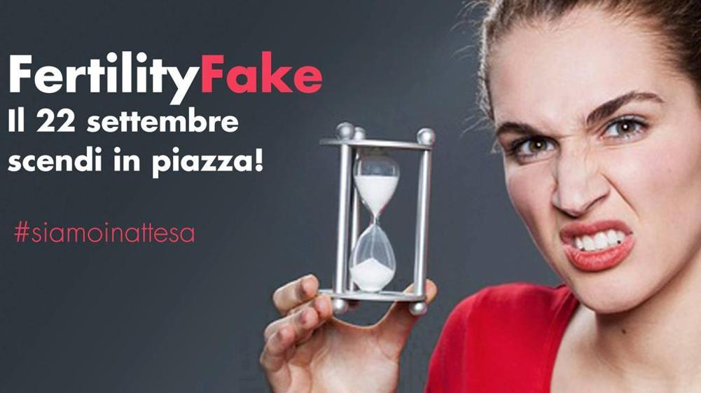 Tutti in piazza per il Fertility Fake!