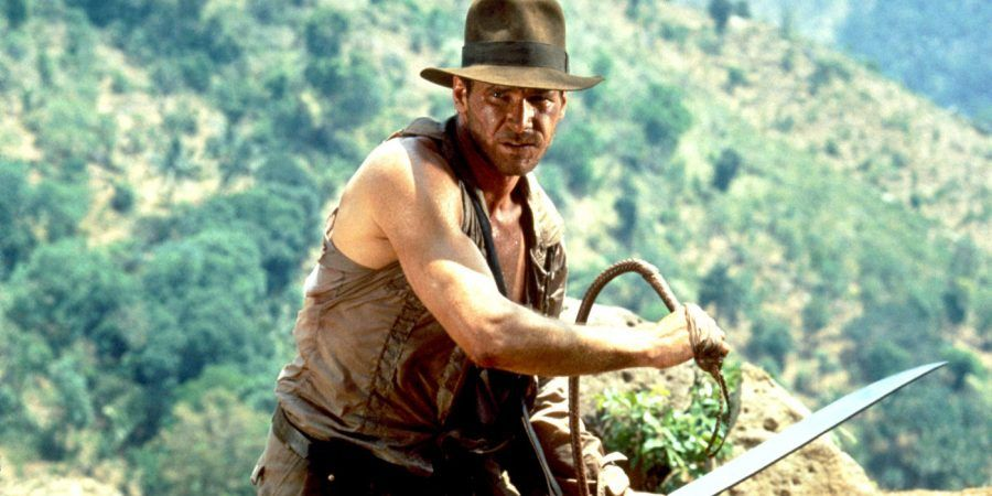 Harrison Ford nei panni di Indiana Jones