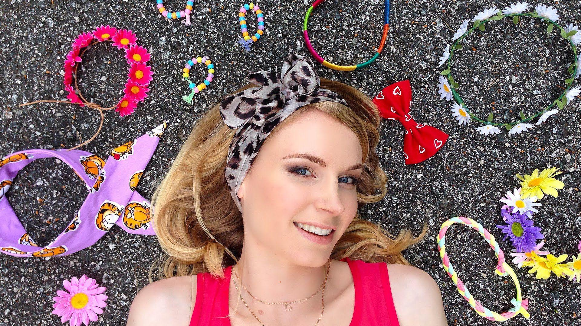 5 idee per cerchietti per capelli fai da te