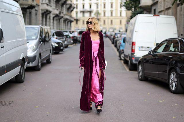 Street Style da Milano Moda Donna primavera-estate 2017, primo giorno: Candela Novembre