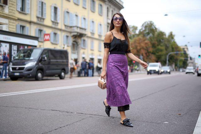 Street Style da Milano Moda Donna primavera-estate 2017, primo giorno: Carlotta Rubaltelli