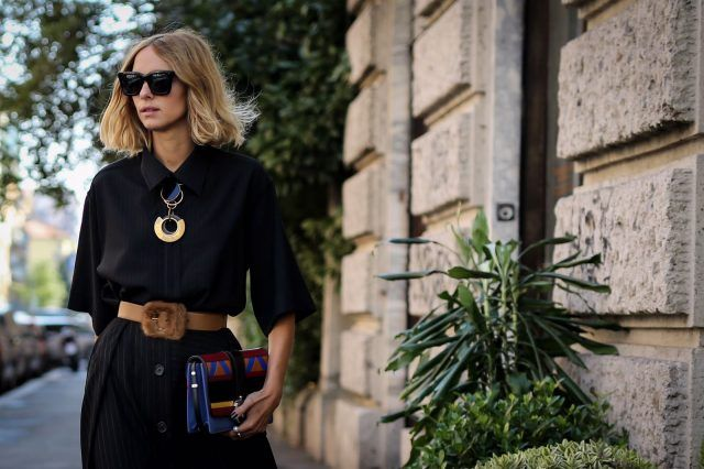 Street style da Milano Moda Donna, quarto giorno: Candela Novembre