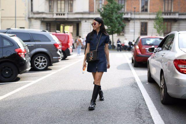 Milano Fashion Week, terzo giorno di street style: Auwei Zhangzou