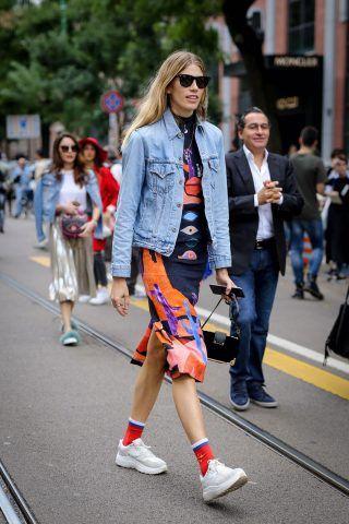 Milano Fashion Week, terzo giorno di street style: Veronika Heilbrunner