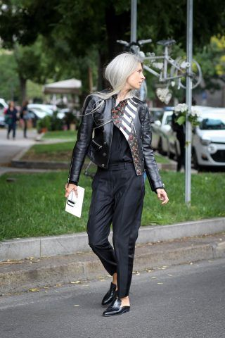 Milano Fashion Week, terzo giorno di street style: Sarah Harris