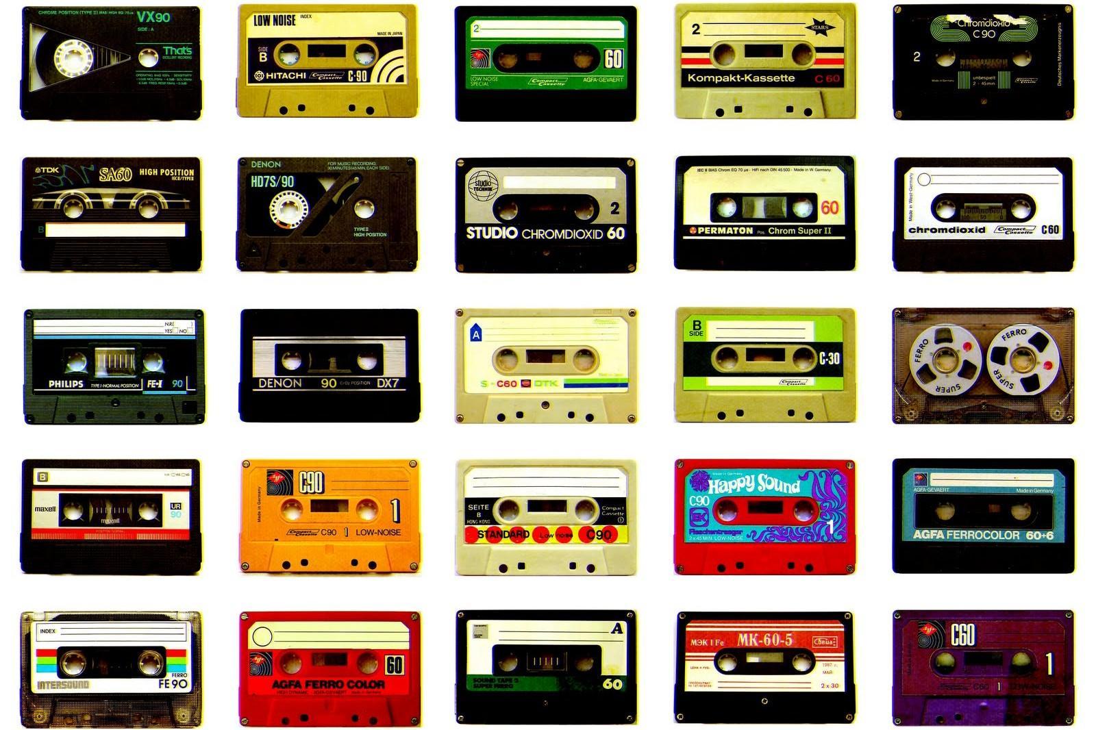 Riciclo creativo: CD, dvd e musicassette