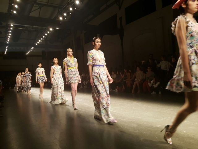 Piccione.Piccione a Milano Moda Donna primavera-estate 2017