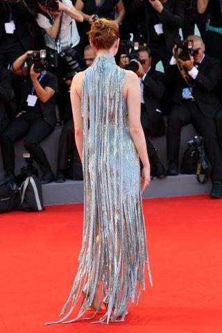 Emma Stone, dettagli del vestito.