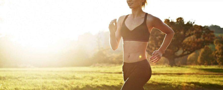 posso correre senza tette in faccia, respiro questa libertà!