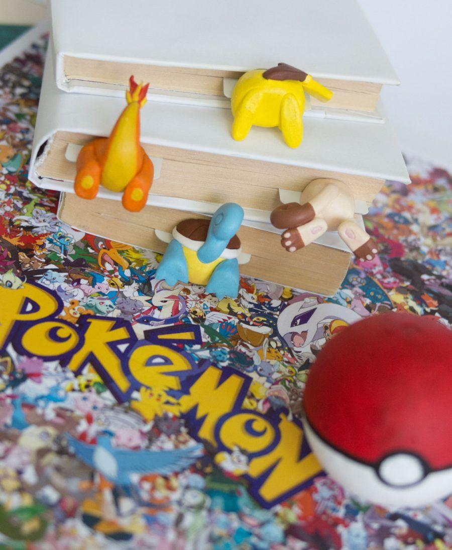 Sederoni di Pokemon come segnalibri