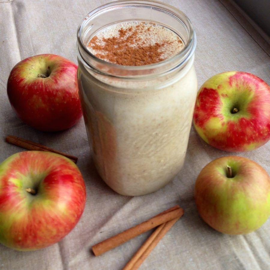 Smoothie alla torta di mele
