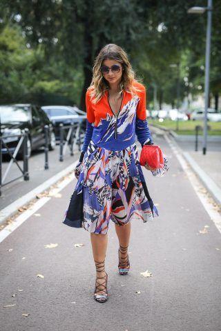 Milano Fashion Week, street style del secondo giorno: la blogger Thassia Naves