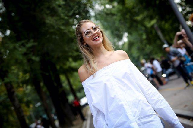 Milano Fashion Week, street style del secondo giorno: Chiara Ferragni