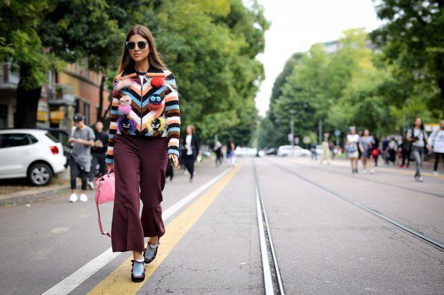 Milano Fashion Week, street style del secondo giorno: Negin Mirsalehi