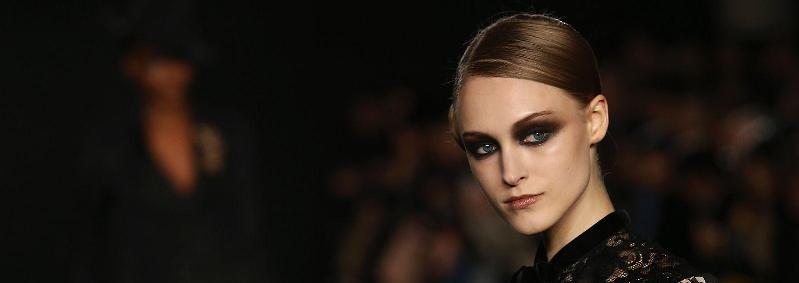 Il make up d'autunno: occhi e labbra color cioccolato