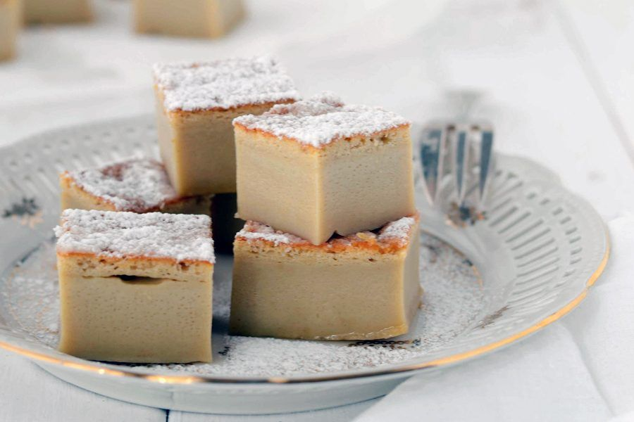 torta magica alle castagne