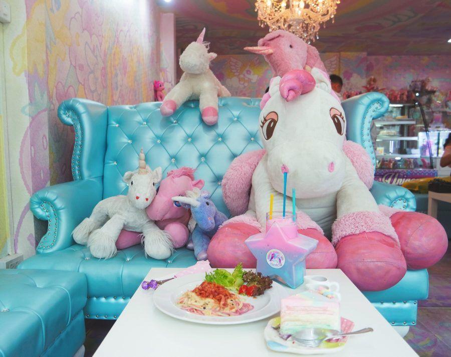 Tutto è a tema unicorno!