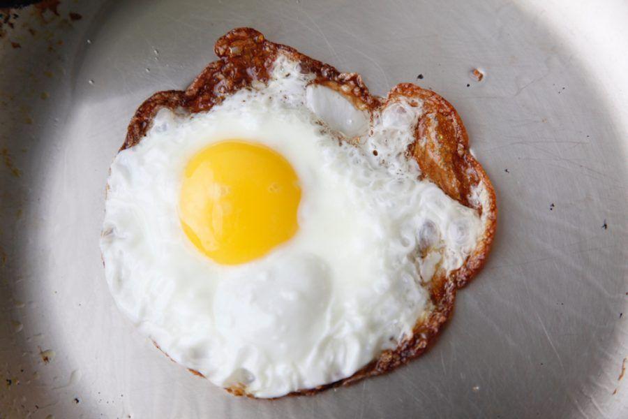 L'uovo all'occhio di bue