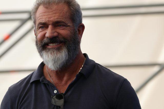 Mel Gibson per il photocall di Hacksaw Ridge
