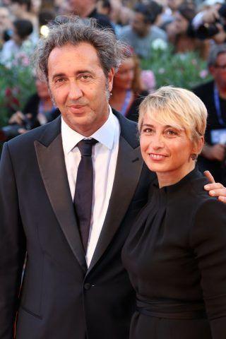 Paolo Sorrentino e Daniela D'AntonioAlessia Reato  sul red carpet di The Young Pope
