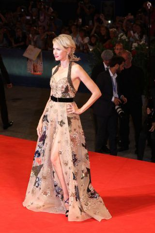 Naomi Watts sul red carpet di The Bleeder