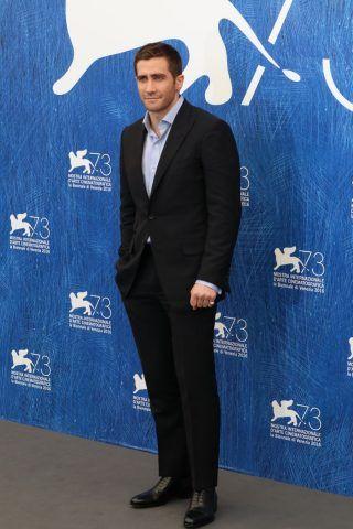Jake Gyllenhaal al Photocall di Nocturnal Animals