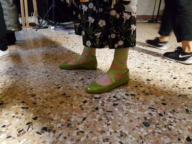 ... e interessantissime le calzature!