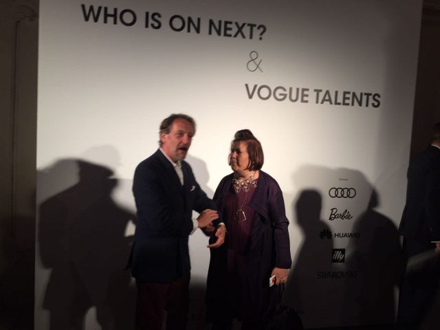 Designer emergenti dall'Italia e dal mondo all'evento Who is on Next? e Vogue Talents: Suzy Menkes