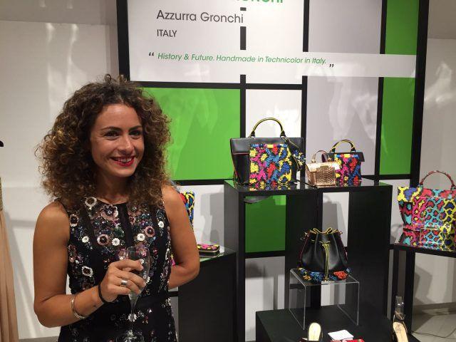 Designer emergenti dall'Italia e dal mondo all'evento Who is on Next? e Vogue Talents: Azzurra Gronchi, Italia