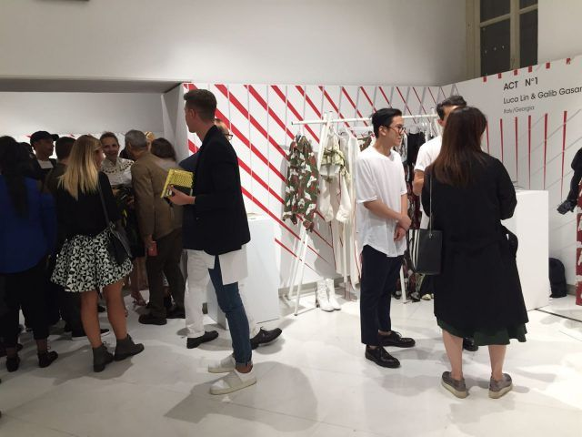 Designer emergenti dall'Italia e dal mondo all'evento Who is on Next? e Vogue Talents: Act N° 1, Italia/Georgia