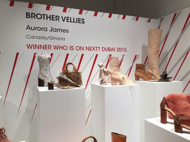Designer emergenti dall'Italia e dal mondo all'evento Who is on Next? e Vogue Talents: Brother Vellies, Canada/Ghana