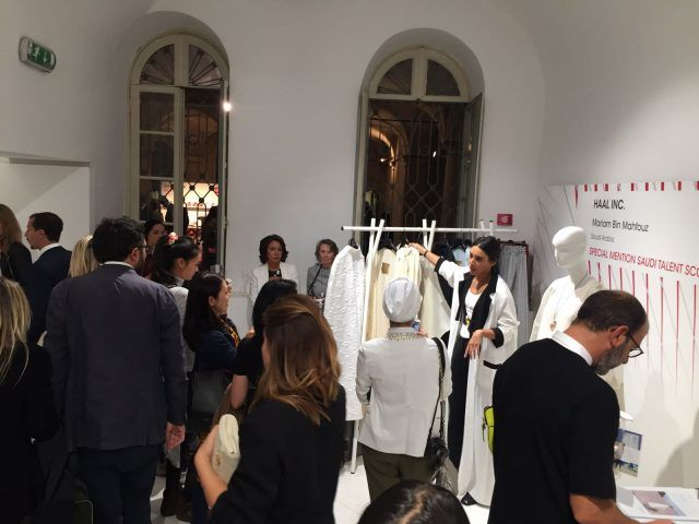Designer emergenti dall'Italia e dal mondo all'evento Who is on Next? e Vogue Talents: Haal Inc., Arabia Saudita