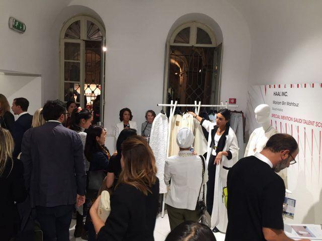 Designer emergenti dall'Italia e dal mondo all'evento Who is on Next? e Vogue Talents: Haal Inc., Arabia Saudita