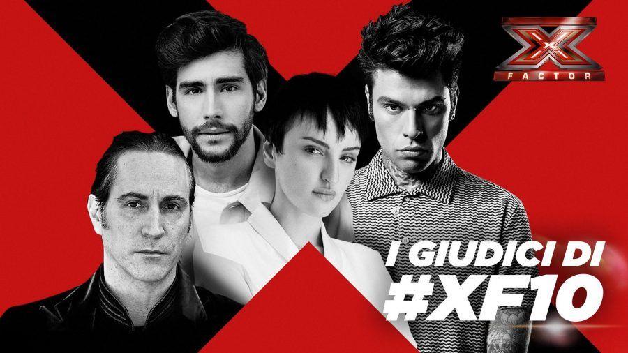 X Factor 10, i giudici