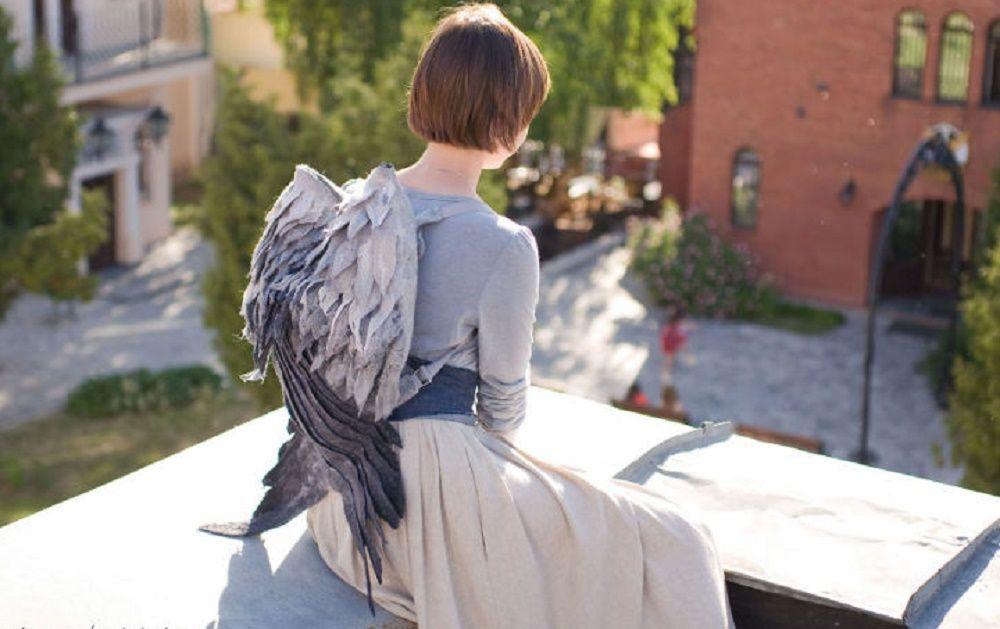 Lo zainetto con le ali per volare con la fantasia