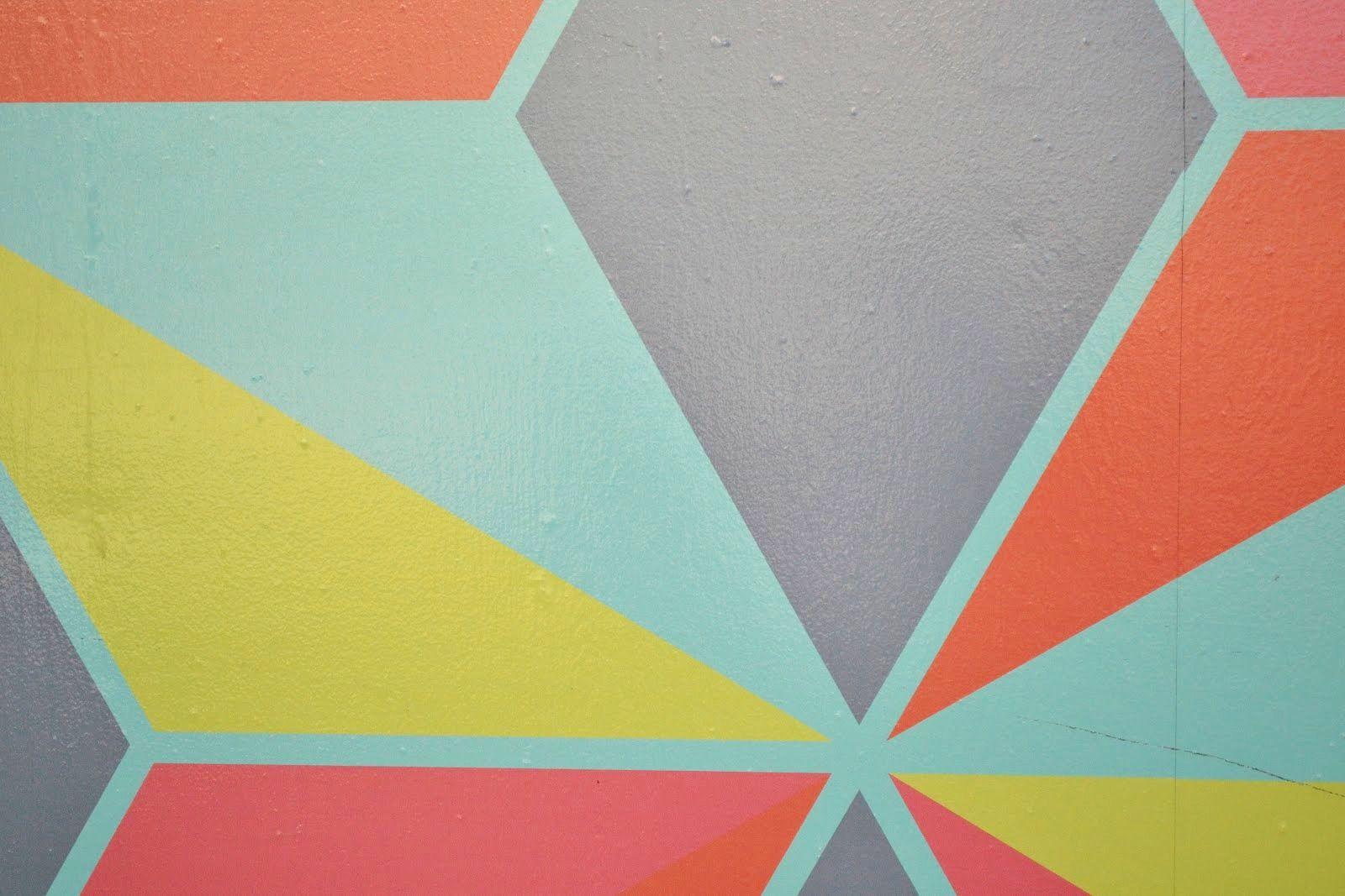 Tendenza casa: dipingere le pareti con grandi macchie di colore