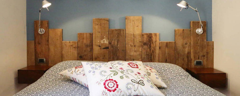 Idee creative per testiere del letto fai da te bigodino - Camera da letto idee ...