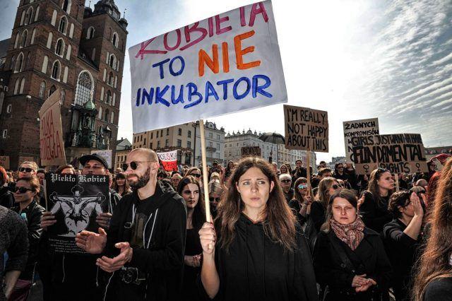 La #CzarnyProtest