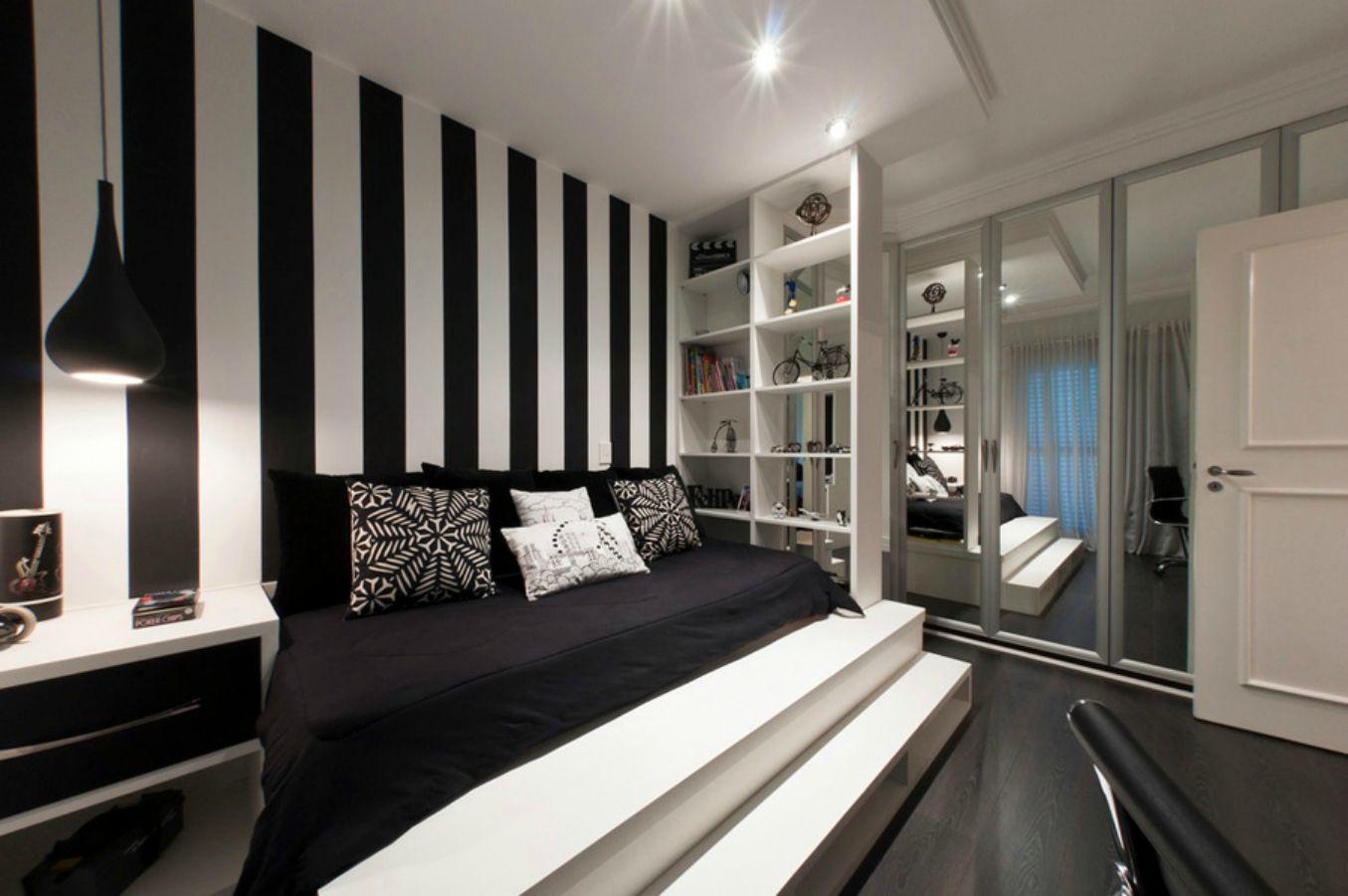6-black-white-bedroom-platform-bed
