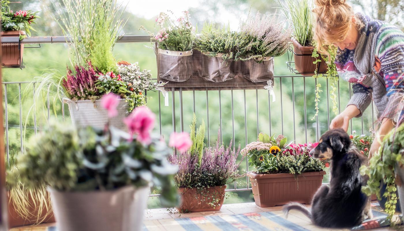 Come arredare terrazzi e balconi in autunno immagine - Arredare balconi e terrazzi ...