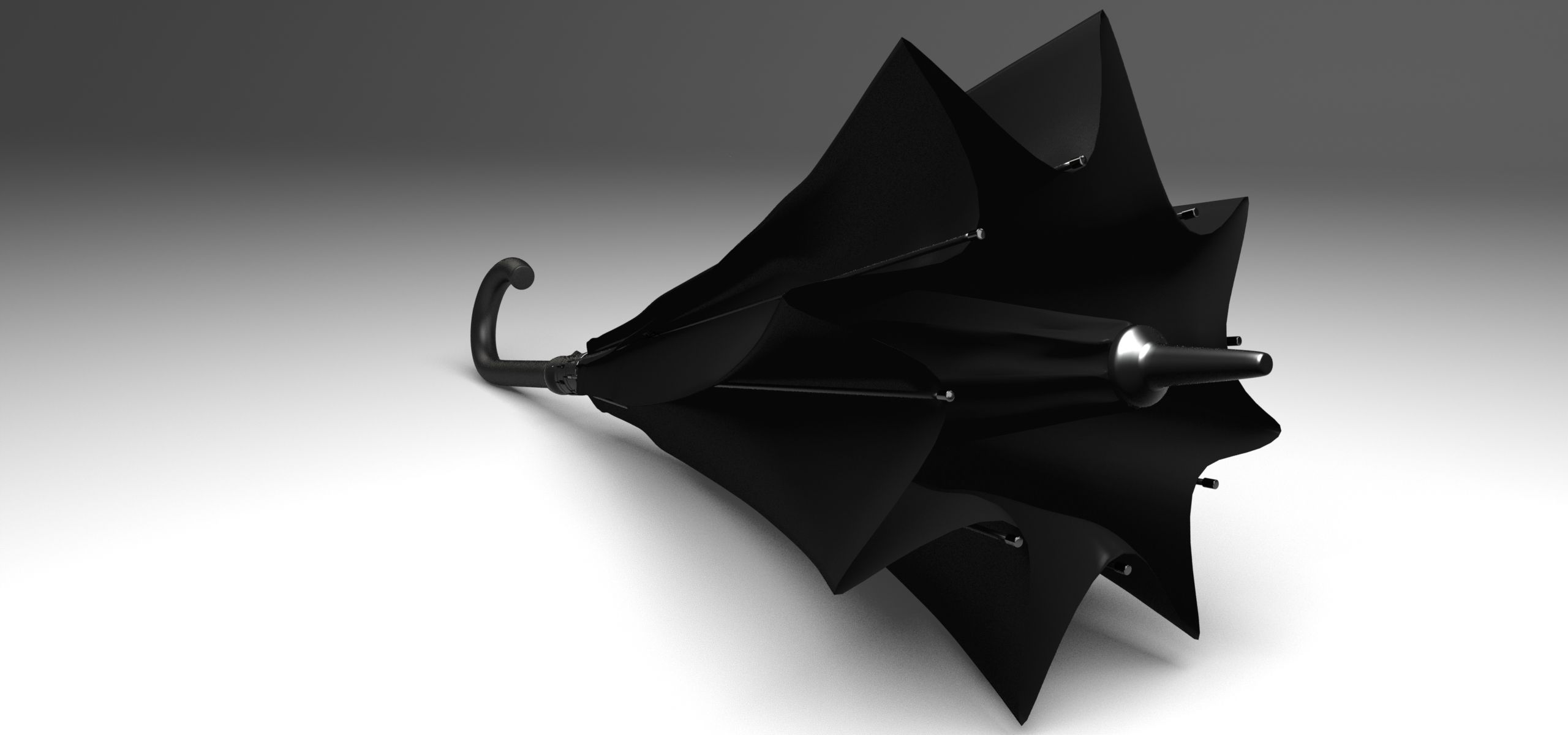 KAZbrella, l'ombrello intelligente