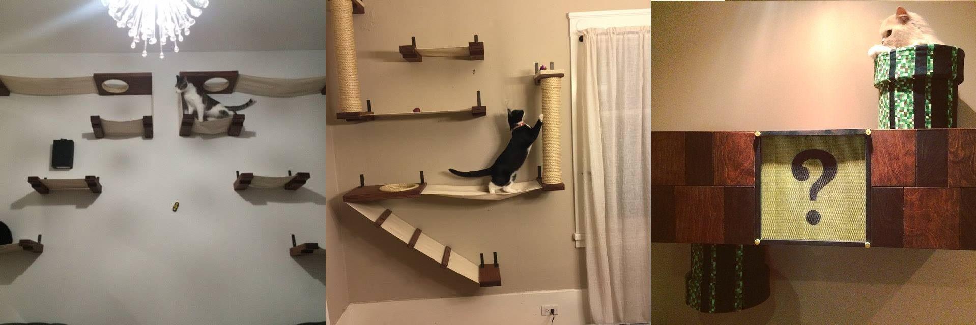 Ecco l'arredamento perfetto per chi vive con un gatto