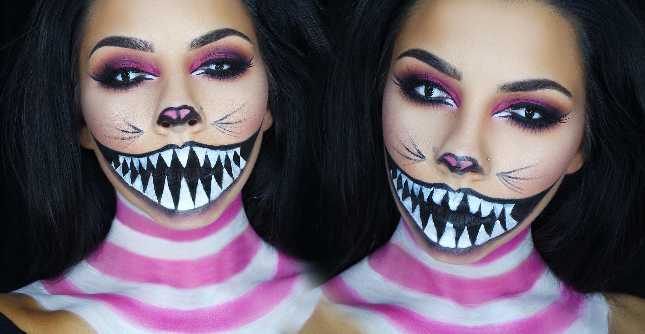 Make up per Halloween  8 facili e terribili idee da realizzare ... 865a90ed46ca