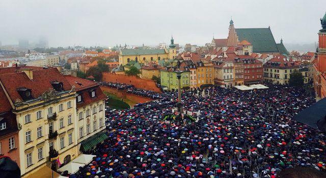 Il Black Monday in Polonia