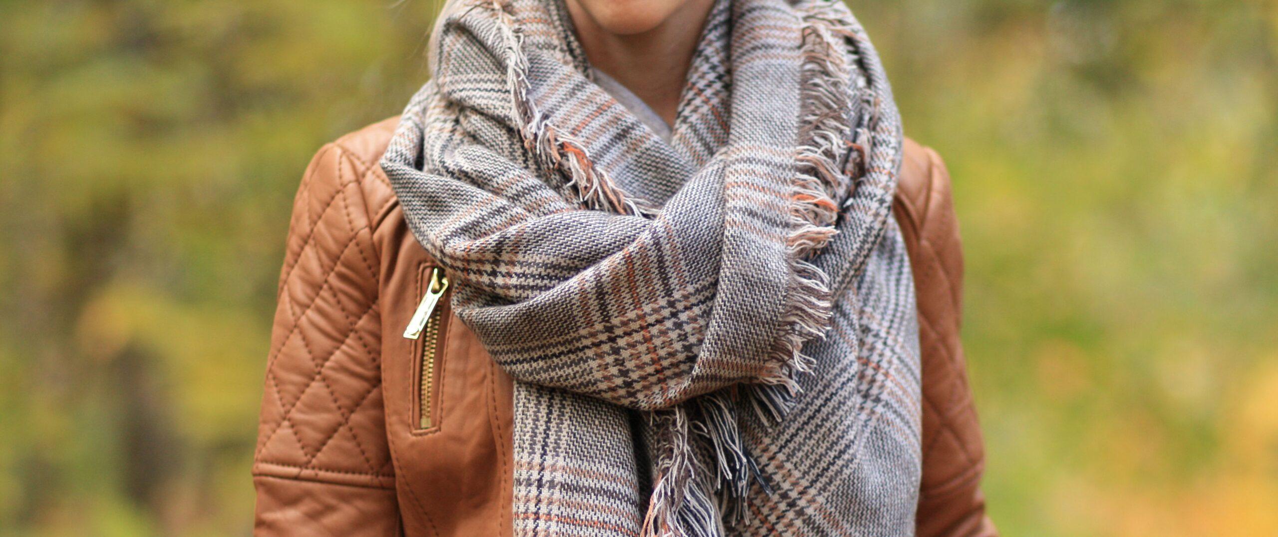 7 modi diversi per legare la sciarpa