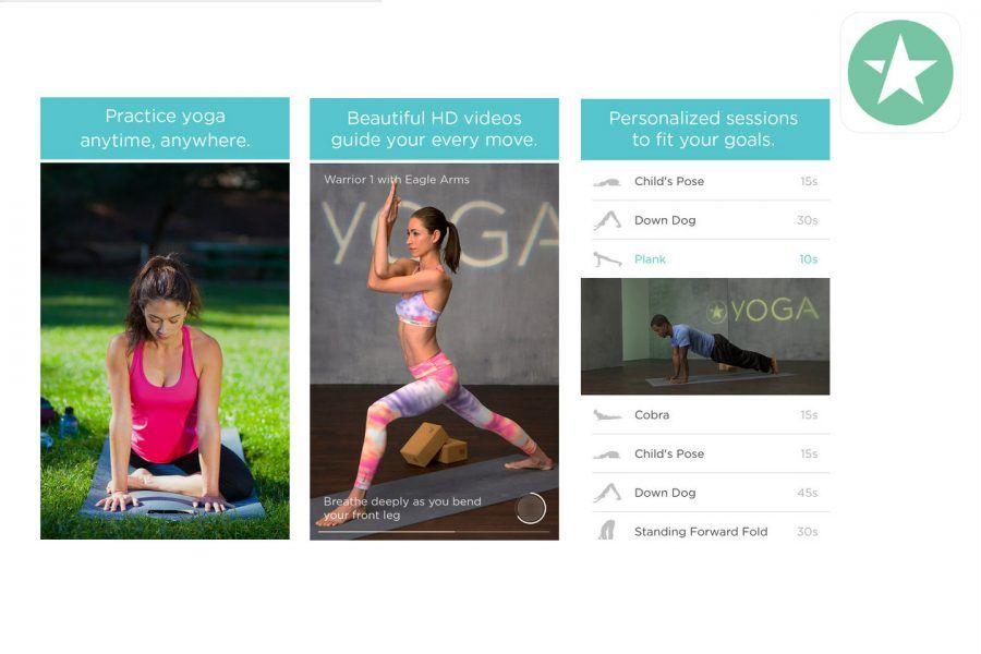 FitStar Yoga per diventare yogini a casa nostra.