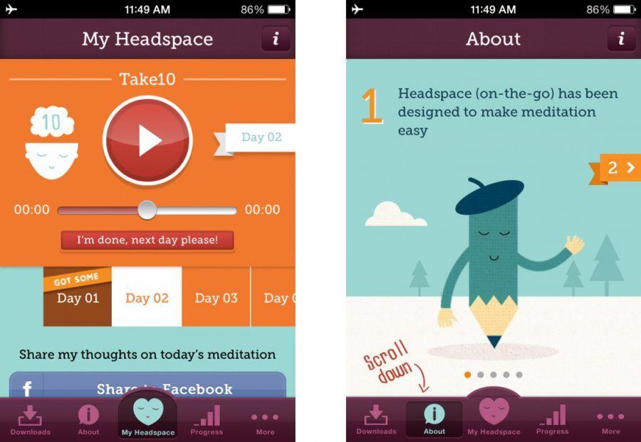 Headspace è un piccolo guru della meditazione.