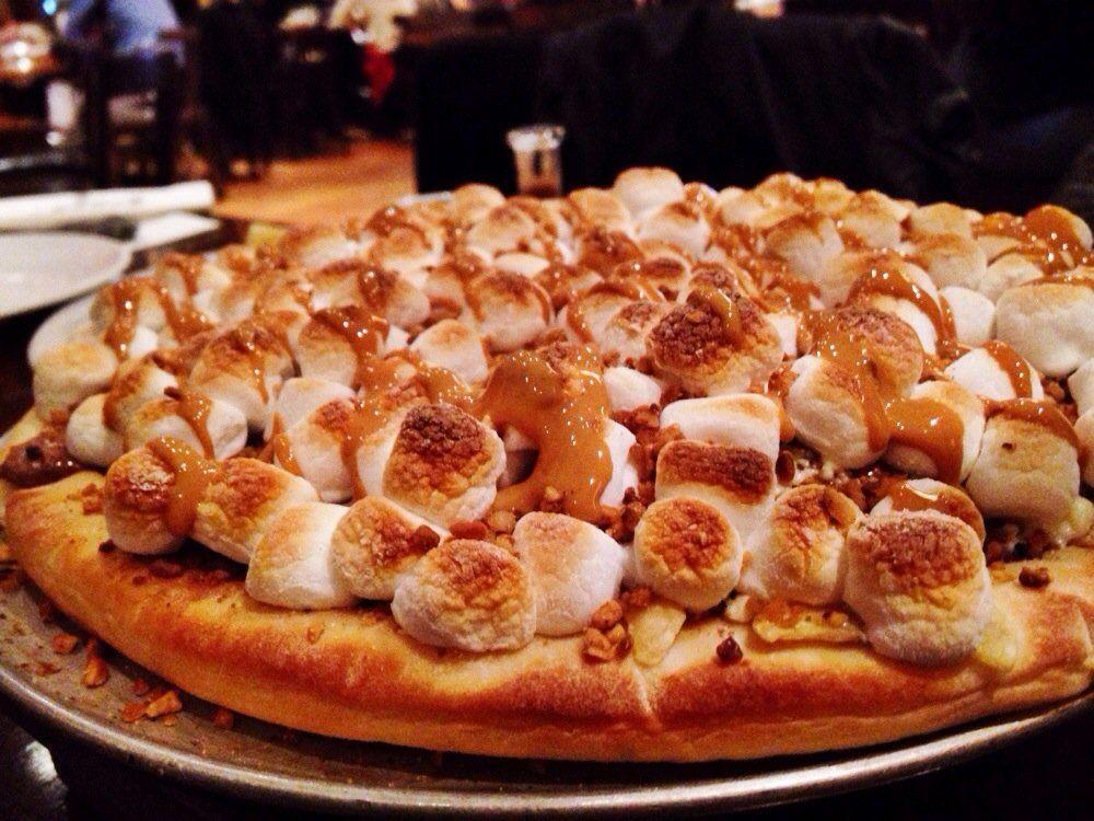 Pizza con i marshmallow